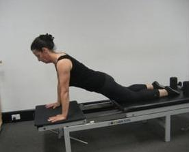 Pilates reformer and pelvic floor