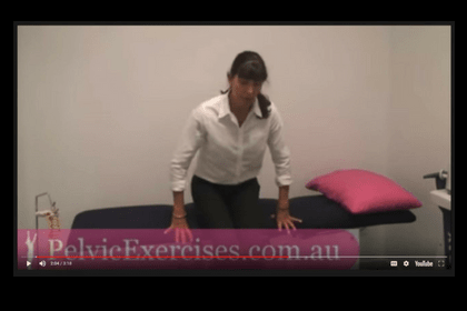 Watch how to move out of bed safely after hysterectomy video