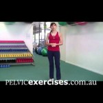 How to Lunge Physiotherapist Video for Pelvic Floor Safe Lunge