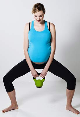 Kettleball Squat