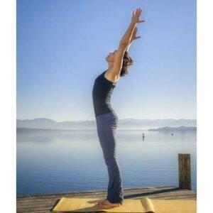Standing Yoga pose