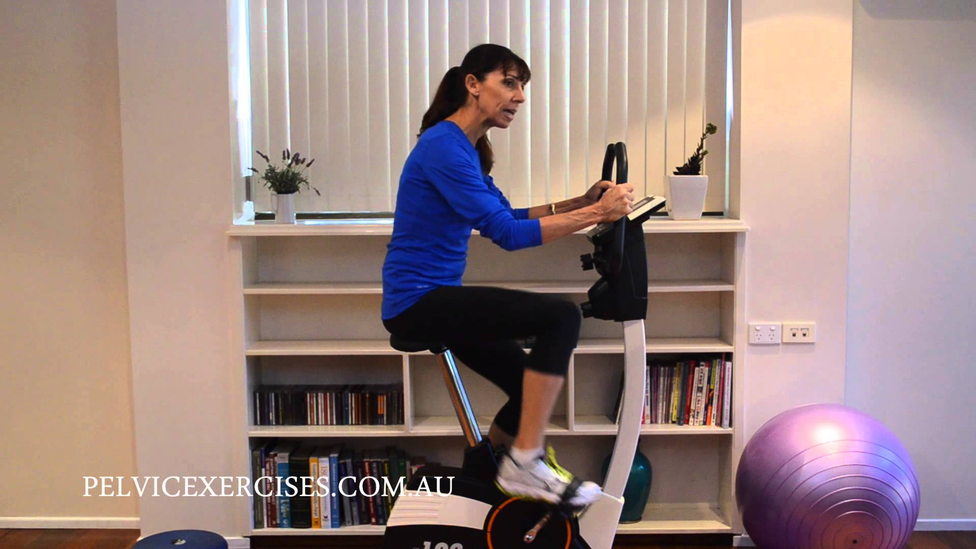 Stationary Bike for Pelvic Floor Safe Exercise & Weight Loss