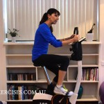 Stationary Bike Set Up for Pelvic Floor Safe Exercise & Weight Loss