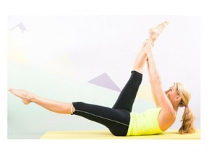 Scissors Pilates Exercise