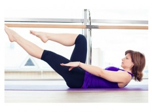 Single-Leg Stretch Pilates