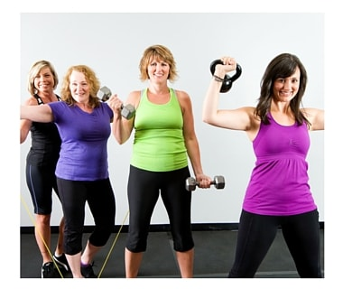 Group exercise for women