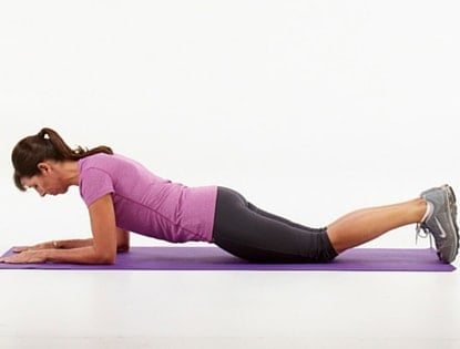 Modified Planking exercise