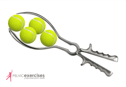 Forceps with Tennis Balls