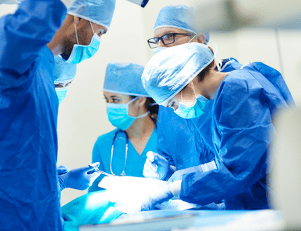 Abdominal hysterectomy surgery