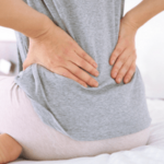 Cause of back pain after hysterectomy