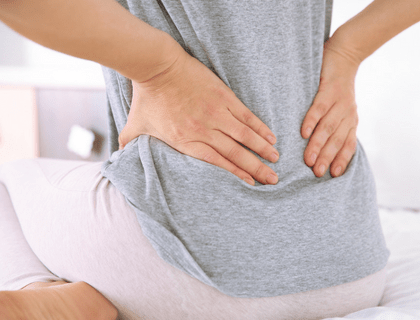 Back pain after hysterectomy