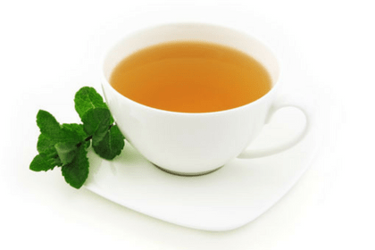 Peppermint tea for gas after hysterectomy