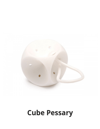 how to clean a cube pessary