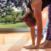 Deep forward bend Yoga