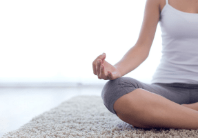Seated breathing and good posture
