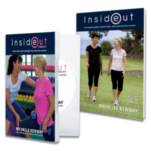 Inside Out Strength Book and Workout DVD Physiotherapy Saver Pack