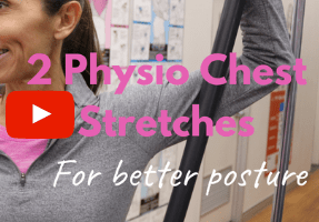 Physio Chest Stretches for posture