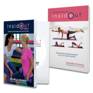 Prolapse Exercises Book and DVD Physiotherapy Saver Pack