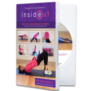 Strength and Core Workout DVD by Physiotherapist Michelle Kenway