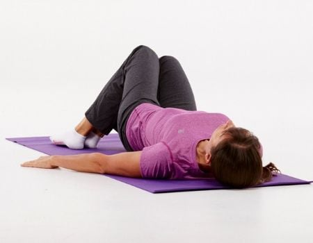 Hysterectomy recovery exercise