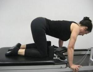 Pilates reformer pelvic floor safe exercises